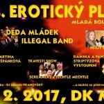 Mladá Boleslav DK tradiční Erotický ples 4.2.2017