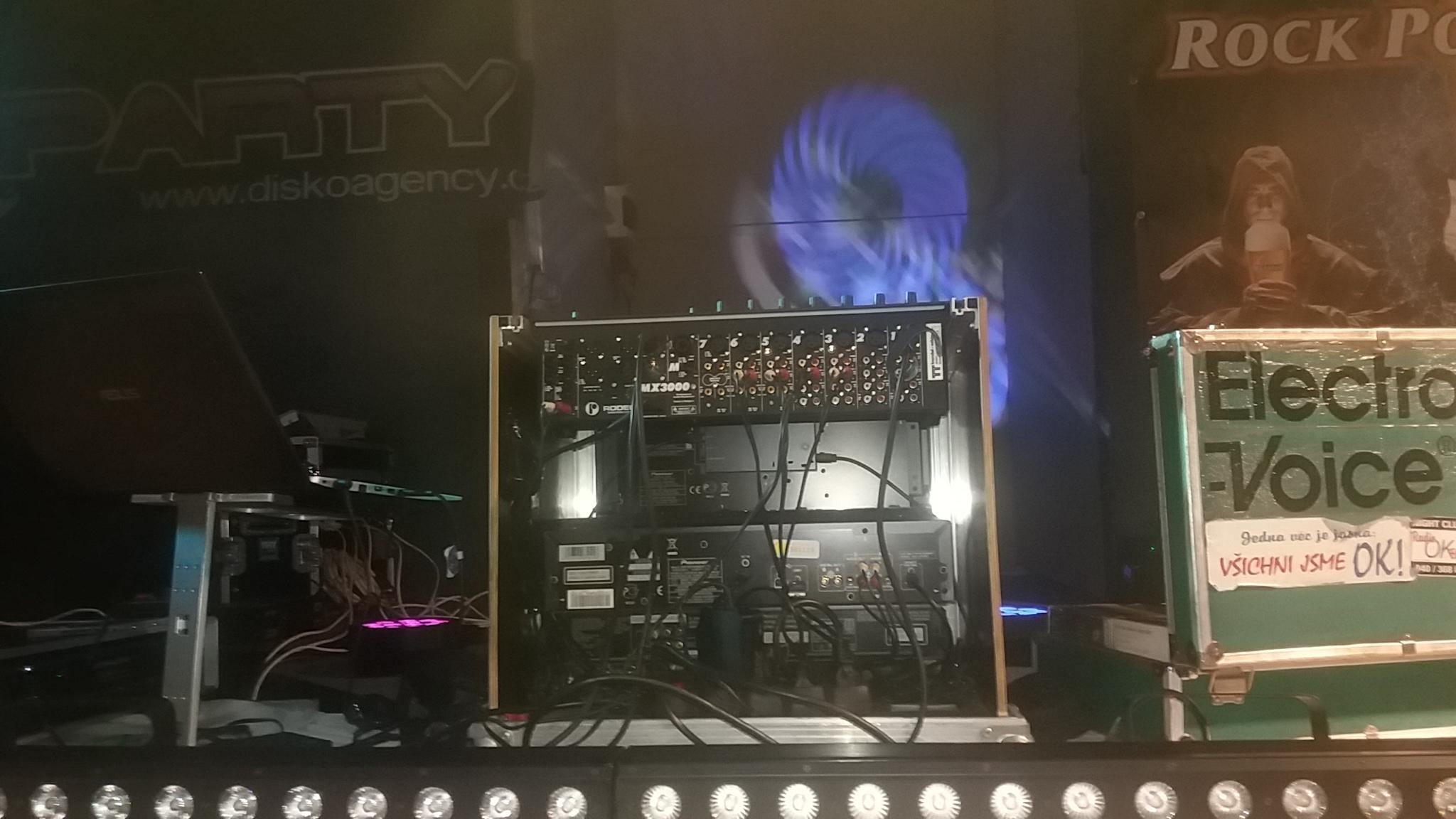 Mnichovo Hradiště Retro Party sound EV Voice, Robe light 28.12.2019
