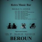 Beroun Retro Music Bar listopad  2017