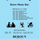 """Beroun Retro Music Club """"U Madly"""" únor"""