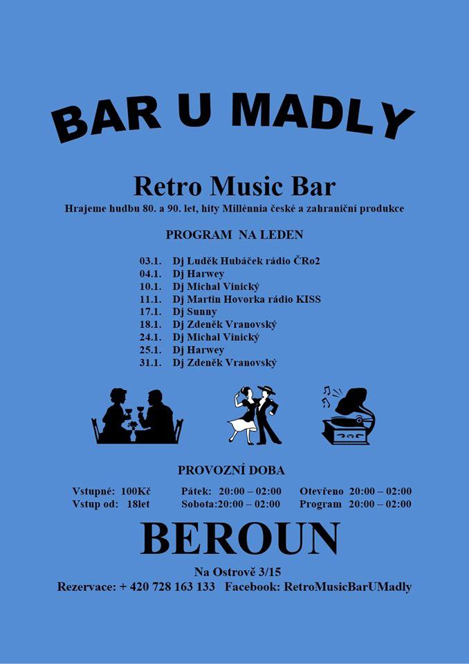 "Beroun Retro Club ""U Madly"" leden 2020"