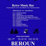 Beroun Retro Club U Madly listopad 2019