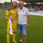 FC HK - FK Pardubice  16.8.2015 s gólmanem Radimem Otmarem