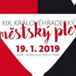 Hradec Králové Městský ples 19.1.2019