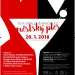 Hradec Králové Městský ples 20.1.2018