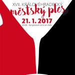 Hradec Králové 17. Městský ples KC Aldis  Dance Party  21.1. 2017