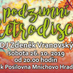 Mnichovo Hradiště tradiční Retro Party 26.10.2019