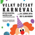 Neratovice tradiční Maškarní karneval 24.1.2016