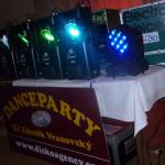 Roždalovice Velikonoční Dance Party  31.3.2018  sound EV Voice, Dynacord, Robe Light