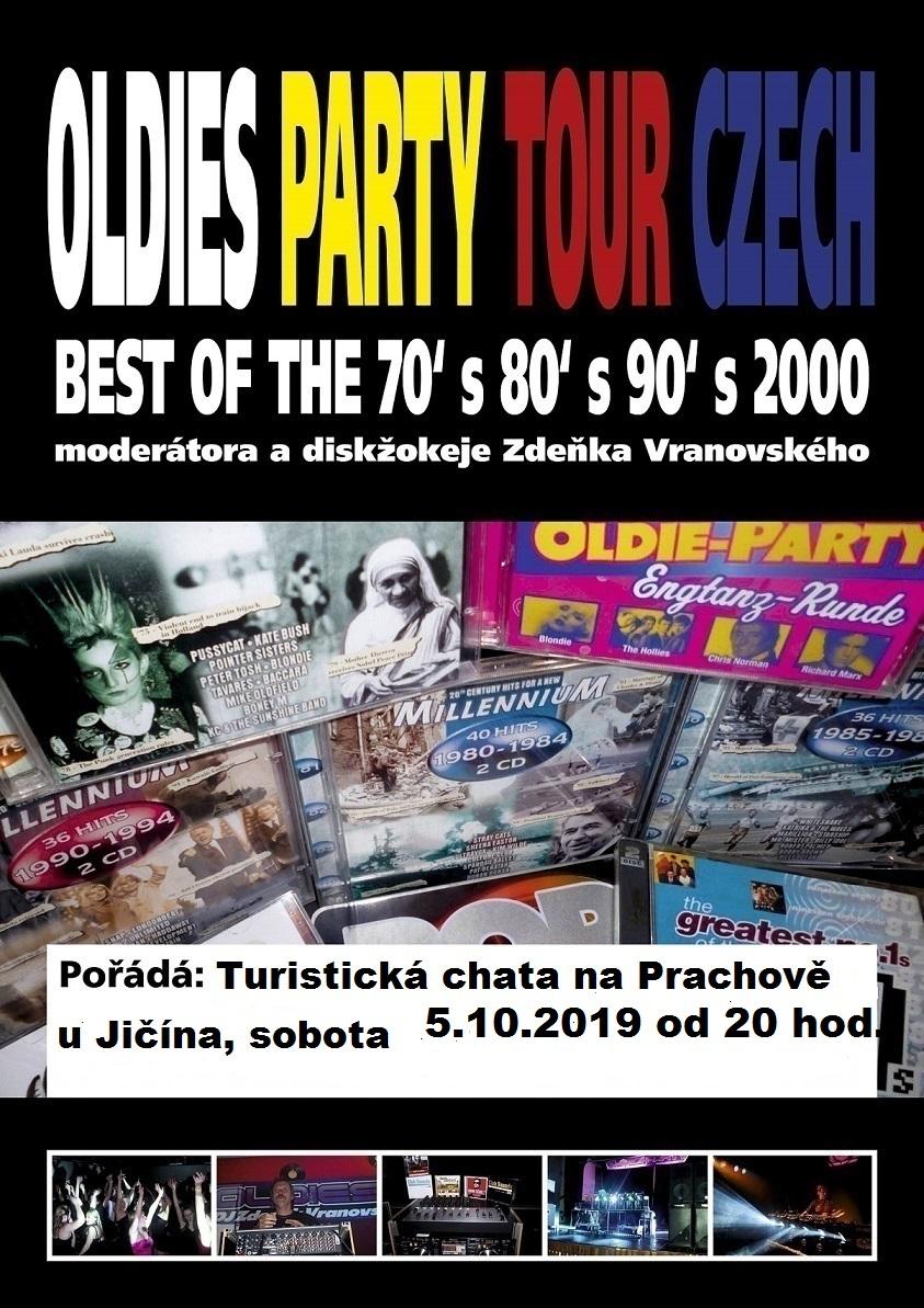 Prachov u Jičína - Oldies Party 5.10.2019