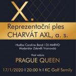 Tradiční UŽ !! 10. Reprezentační ples Charvát AXL  17.1.2020 Semily