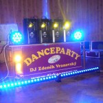 Rožďalovice Retro Party 13.12.2014  Sound EV Voice + Robe light