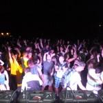 Tisová u Vysokého Mýta Dance Party 28.8.2015  super atmosféra  parket  cca 2200 lidí