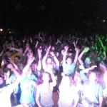 Tisová u Vysokého Mýta Dance Party 28.8.2015 parket