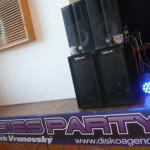 Hněvčeves KD Oldies Party 16.4.2016  EV sound, Robe light