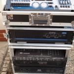 Dynacord 2000, 1800 a Carvin DCM   2000  Robe DMX 480