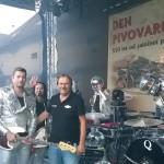 Vysoký Chlumec Den Pivovaru 10.9.2016 moderace a s Mandrage
