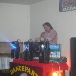 Danceparty kavárna KC Golf Semily ples SDH 29.1.11