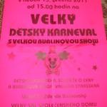 Tradiční karneval v Neratovicích 13.3.11