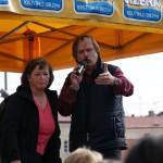 Moderace 'Bláznivý den' Mladá Boleslav 1.4.2011