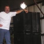 Jenišovice u Chrudimi Benátská noc 20.8.11  sound EV Voice a Dynacord, light Robe zn. kvality