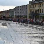 Mladá Boleslav Staroměstské nám. přehlídka  mažoretek 23.9.11