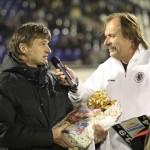 S hradeckou, fotbalovou legendou Rosťou Macháčkem a sport. řed. FC HK  Lad.Škorpilem 4.11.2011