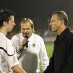 Vyhlášení nej domácího hráče po zápasu s Jabloncem 4.11.2011