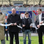 """Otevření Sportovního centra mládeže """"Bavlnaů FC Hradec Králové 10.4.2012 více na www.fchk.cz"""