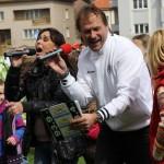Dětský soutěžní program Hradec Králové s Heidi 10.4,´.2012 více na www.fchk.cz
