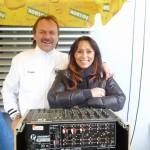 S Heidi na otevření Sportovního centra mladeže Bavlna FC Hr. Králové 10.4.2012  www.tvhk.cz