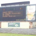 Hradec Králové reklama na MC Level ……………………………