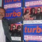 Moderace křestu nového CD 'Žár' skupiny Turbo Praha 14.6.2012 Klub Limonádový Joe