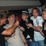 Křest nového CD skupiny Turbo 14.6.2012 Praha Club Limonádový Joe