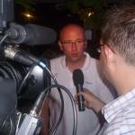 Rozhovor s trenérem pardubických hokejistů Mistrů ligy 2011/2012 Pavlem Hynkem na Rieter Cupu 2012