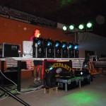 Tisovské léto 2013 a Robe lighting, sound EV Voice, Dynacord, Rodec. Pioneer