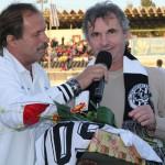 S hradeckou 'fotbalovou ikonou', kamarádem Pavlem Černým 30.9.2012  slaví '50'