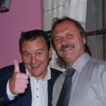 S JUDr. Pavlem Staňkem-restaurant Duran Hradec Králové 21.9.2012  fi. Gist Milan Přibyl