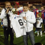 S Václavem Pilařem 29.11.2012 /zápas s Plzní/
