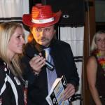 Moderace 'Havaj Party' FC Hradec Králové 12.12.2012 a 5.roč Miss FC Hradec Králové