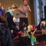 Neratovice –tradiční maškarní karneval s programem 27.1.2013 sound 6x EV Voice, Dynacord