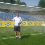 Moderace poločasových programů pro FC Hradec Králové 2013/2014 a hradeckým pivem 'Votrok'