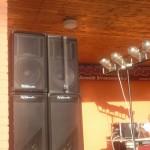 Tisová Dance Party –sound EV Voice a Dynacord  26.7. a 29.8.2013
