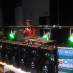 Bezno – Oldies Party 19.10 2013. – příprava technik  Marek