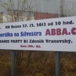 Banner Abba CZ  27.12.2013 Jizerni Vtelno